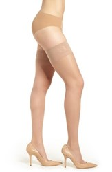 Oroblu Component Sheer Stay Up Stockings Nude