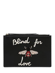 Gucci Blind For Love Leather Pouch