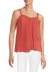 Bailey 44 Pleated Tank Persimmon