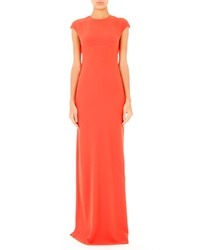 T By Alexander Wang Open Back Maxi Dress Flare