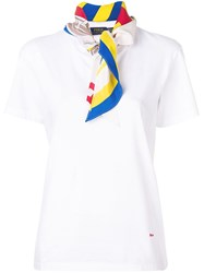 Polo Ralph Lauren Printed Foulard T Shirt White