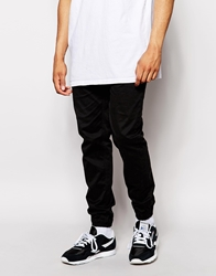 Minimum Chino Jogger With Cuffed Bottom Black