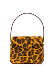 Edie Parker Hot Leopard Print Box Bag 60