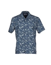 Hentsch Man Shirts Shirts Men Slate Blue