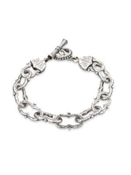 Konstantino Classics Sterling Silver Toggle Bracelet