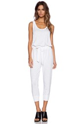 Wilt Belted Jumpsuit White