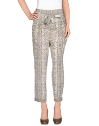 Roberto Cavalli Trousers Casual Trousers Women Beige