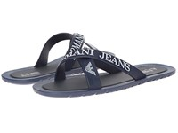 Armani Jeans Logo Sandal Blue Men's Sandals