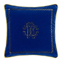 Roberto Cavalli Venezia Reversible Cushion 40X40cm Emerald Blue