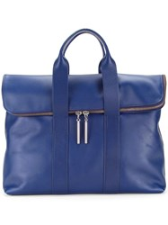 3.1 Phillip Lim 31 Hour Tote Blue