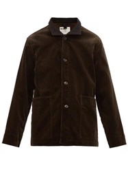 Mhl By Margaret Howell Heavyweight Corduroy Jacket Brown