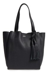 Vince Camuto Small Taja Leather Tote With Tassel Charm