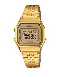 G Shock Casio Vintage Digital Watch Gold