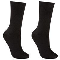 John Lewis Merino Wool Ankle Socks Pack Of 2 Black