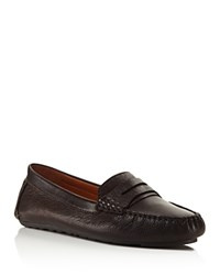 Gentle Souls Portobello Penny Loafers Dark Brown