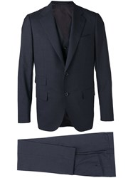 Caruso Two Piece Suit And Gilet Men Cupro Wool 48 Grey