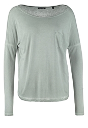 Marc O'polo Long Sleeved Top Light Sage Khaki