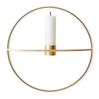 Menu Pov Circle Candleholder Brass Gold