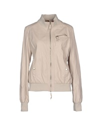 Scee By Twin Set Jackets Beige