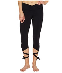 Onzie Ballerina Capris Black Women's Workout