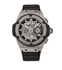 Hublot King Power Unico Titanium 48Mm Watch Unisex Black