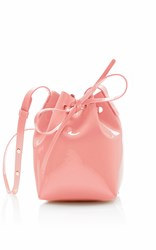 Mansur Gavriel Mini Mini Bucket Bag Pink