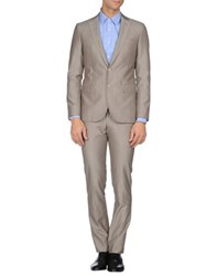 Paoloni Suits And Jackets Suits Men Grey