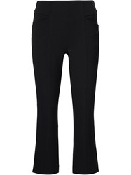 Maiyet Cropped Bootcut Trousers Black
