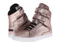 Supra Society Ii Rose Gold White Men's Skate Shoes Pink