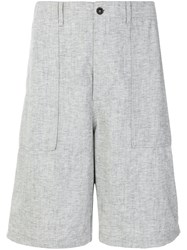 Universal Works Fatigue Shorts Grey