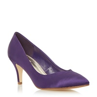 Untold Bonitie Sweetheart Court Shoe Purple