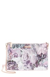 Ted Baker London Illuminated Bloom Leather Crossbody Bag