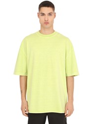 Yeezy Heavy Cotton Jersey Oversized T Shirt