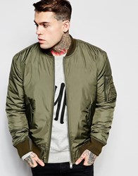 Hype Ma1 Bomber Jacket Green