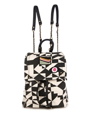Jerome Dreyfuss Florent Graphic Print Canvas Backpack