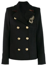 Paco Rabanne Double Breasted Jacket Black