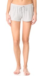 Pj Salvage Just Peachy Shorts Heather Grey