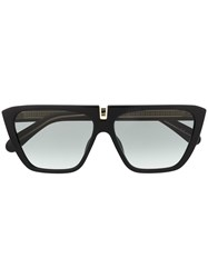 Givenchy Eyewear Rectangle Frame Sunglasses Black
