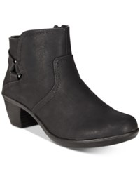 Easy Street Shoes Dawnta Booties Women's Black