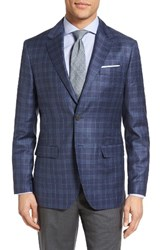 Moods Of Norway Men's Holberg Trim Fit Plaid Wool Sport Coat