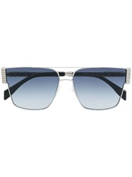 Moschino Eyewear Square Shape Sunglasses Black