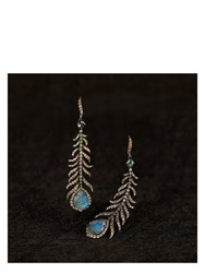 Annoushka Mythology Tsar Feather Earrings Blue