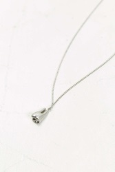 Cheap Monday Tooth Necklace Silver
