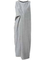 Maison Martin Margiela Bias Cut Midi Dress Grey