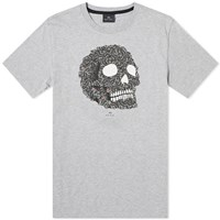 Paul Smith Zebra Skull Tee Grey