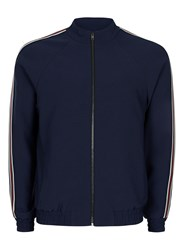 Topman Blue Side Stripe Smart Track Top