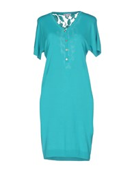 Who S Who Short Dresses Turquoise