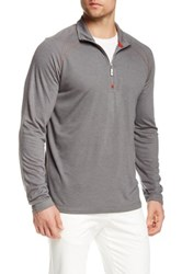 Tommy Bahama Dude Ur A Liteweight Half Zip Pullover Gray