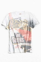 Mitchell And Ness Allen Iverson Break Boards Tee Multi