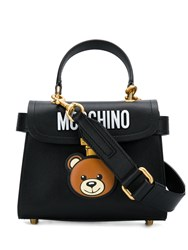 Moschino Teddy Bear Satchel Black